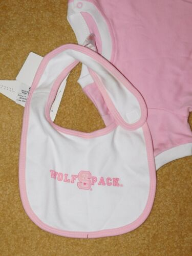 STATE WOLFPACK 3 PIECE SET INFANT GIRLS N.C New With Tags Size 24 Months