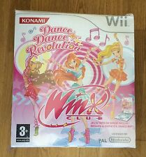 WINX CLUB DANCE DANCE REVOLUTION (version française) avec tapis Wii NEUF