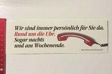 Aufkleber/Sticker: Quelle - Rund Um Die Uhr Für Sie Da Sogar Nachts (160316173)