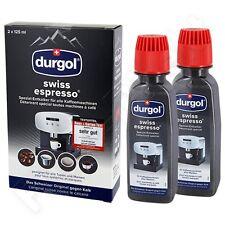 (7,86€/100ml) 3 x Durgol Swiss Espresso Spezial Entkalker DED 18 (2 x 125 ml)