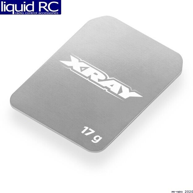 XRAY 326182 Stainless Steel Weight 17g Front for sale online