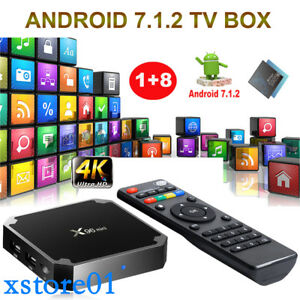 Details zu 2019 X96MINI S905W Quad Core Android 7 1 2 Smart TV BOX 4K 3D  Media Player WIFI