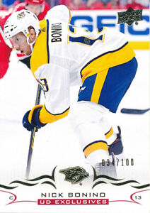 2018-19-Upper-Deck-Series-Two-353-Nick-Bonino-Exclusives-Base-Parallel
