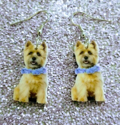 Mydogsocks Cairn Terrier Dog  lightweight earrings jewelry FREE SHIPPING