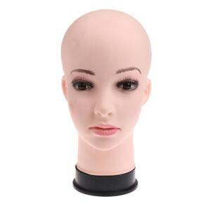 11'' Female Foam Mannequin Manikin Head Model Wigs Hat Glasses Display Stand