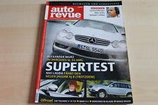107673) Audi S4 - Mercedes G 400 CDI - Auto Revue 01/2003