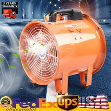 10 Atex Explosion Proof Axial Fan Ducting Extractor Fan Blower Usa Hotsale