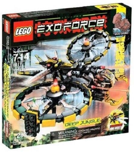 LEGO SET 8117 - - - STORM LASHER - EXO-FORCE - 283 PIECES Near mint, New, Unopened 4a5b5c