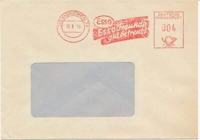 Esso Kraftstoff München 1953 Bund Fst Blg VertrauenswüRdig 610908