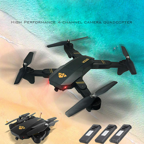 VISUO XS809HW 2.4G WIFI FPV 2.0MP 720P HD Camera Foldable RC Drone Quadcopter