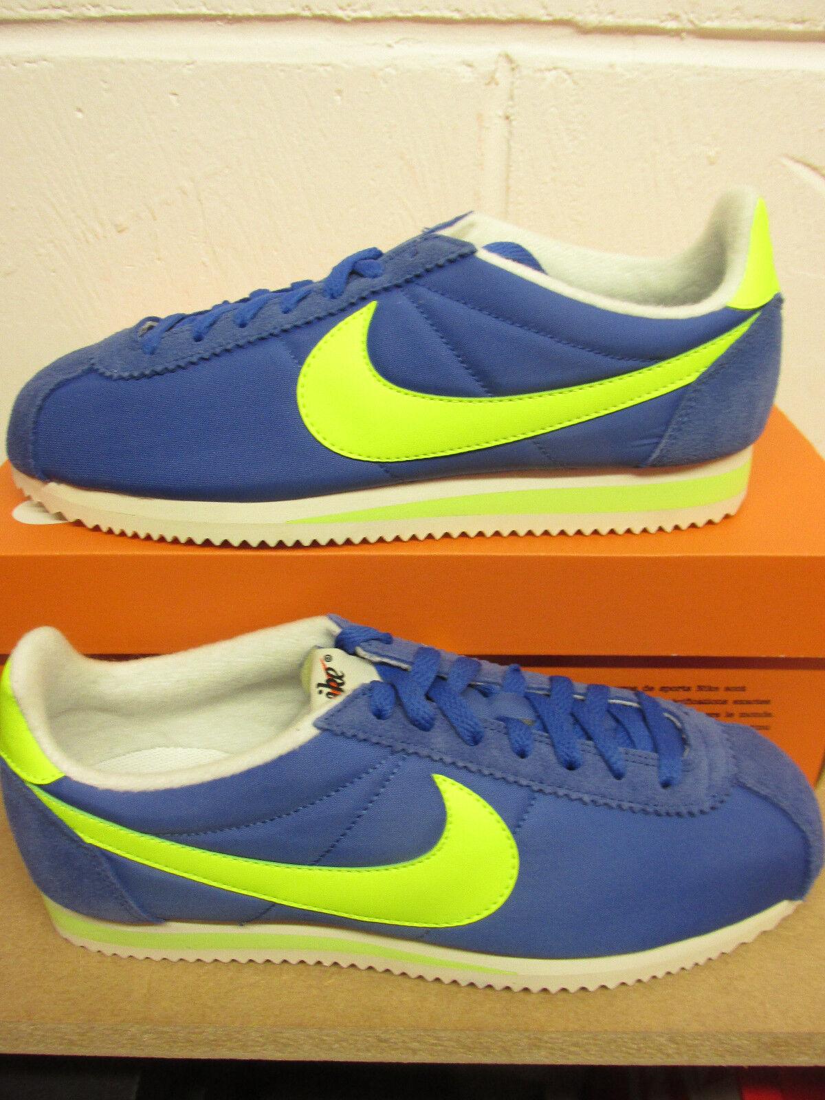 Nike Classic Cortez Nylon AW Mens Running Trainers 844855 470 Turnschuhe schuhe