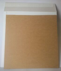 50-x-12-034-LP-Strong-White-Record-Mailers-100-x-Stiffeners-Layer-Pads
