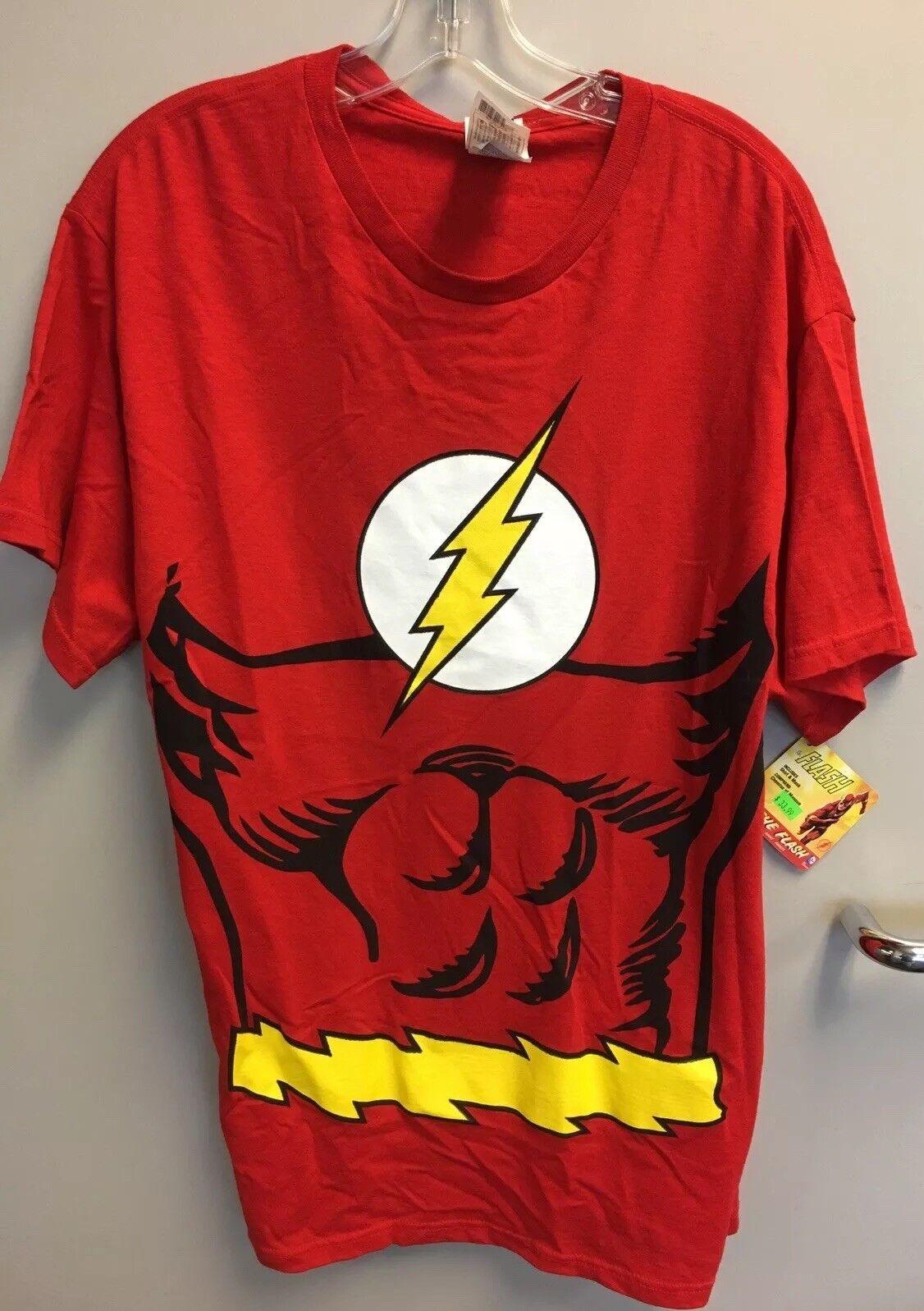 Rubies Costume DC Comics Justice League Superhero Style Adult Printed Top
