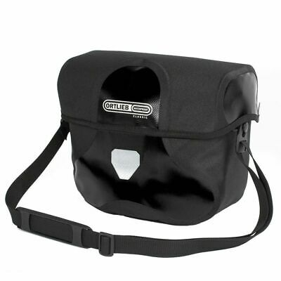 Large Black Ortlieb Waterproof Ultimate 6 Classic Bicycle Handlebar Bag F3203