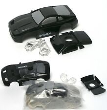 1991 TYCO Nissan 300ZX Black/SIL Z HO Slot Car Wide Short BODY ONLY 6310 Handles