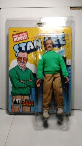 Stan Lee Retro 8 Inch Green Sweater Version Figure Toy Company 75 Years