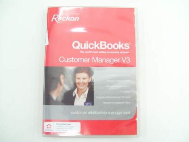Reckon Quickbooks Customer Manager Software V3 for QB Accounting Software
