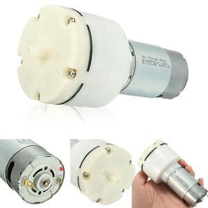 12V Lightweight Separator Vacuum Pump High Pressure Diaphragm Air Compressor New