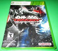 Tekken Tag Tournament 2 Microsoft Xbox 360 Factory Sealed Free Shipping