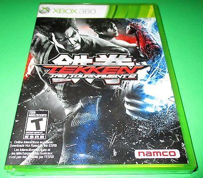 Tekken Tag Tournament 2 Microsoft Xbox 360 Factory Sealed Free