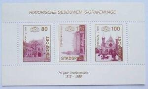 Stadspost-Den-Haag-1988-Blok-Historische-gebouwen