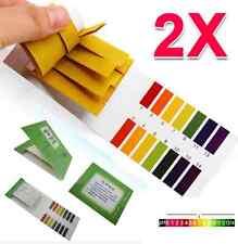 160 Strips Jt52 Ph Paper Alkaline Acid 1 14 Water Litmus Testing Kit Full Range