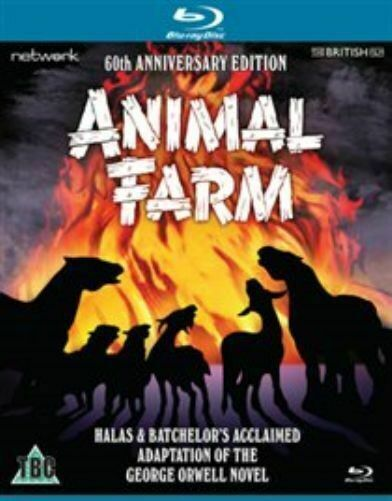 Animal Farm 60th Anniversary Edition Blu Ray Uk Import Rated U Region B Color For Sale Online Ebay