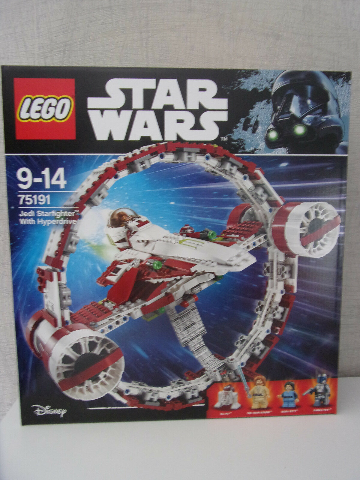 Lego Star Wars 75191 Jedi Starfighter with Hyperdrive - Nip