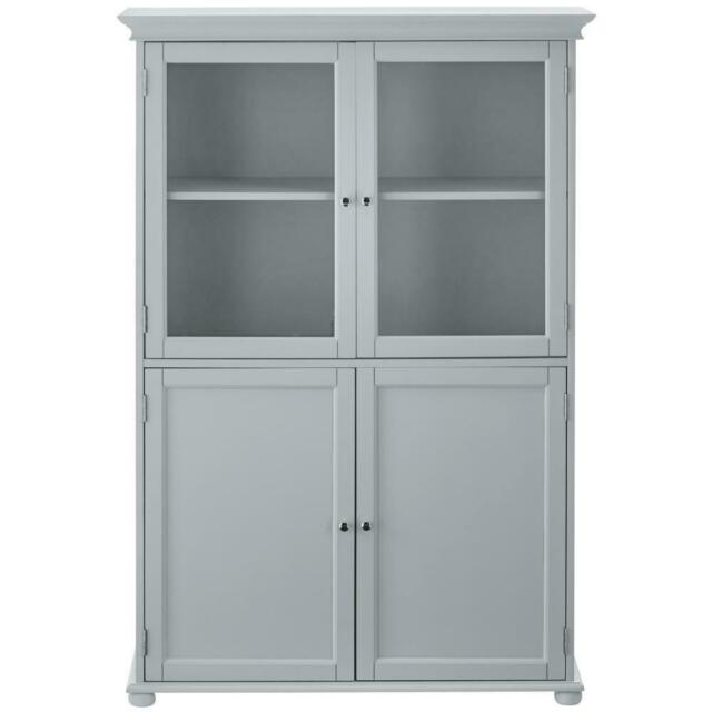 Bathroom Linen Storage Cabinet White