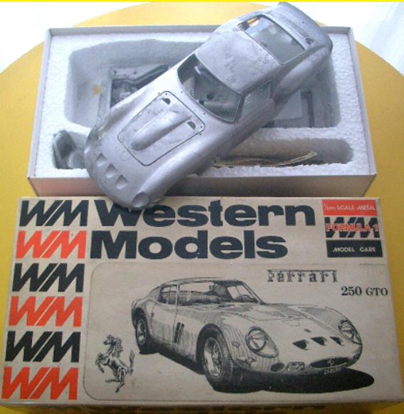 Western Models 1 24 Ferrari 250gto Montage Metall Set aus JAPAN F S