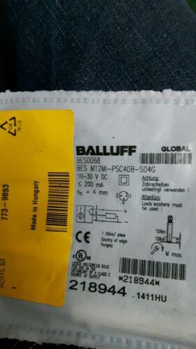 BALLUFF Sensore BES m12mi-psc40b-s04g NUOVA 180 giorno