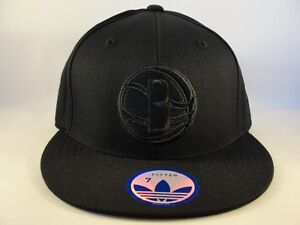 457e6886d29ac Image is loading Brooklyn-Nets-NBA-Adidas-Fitted-Hat-Cap-Size-