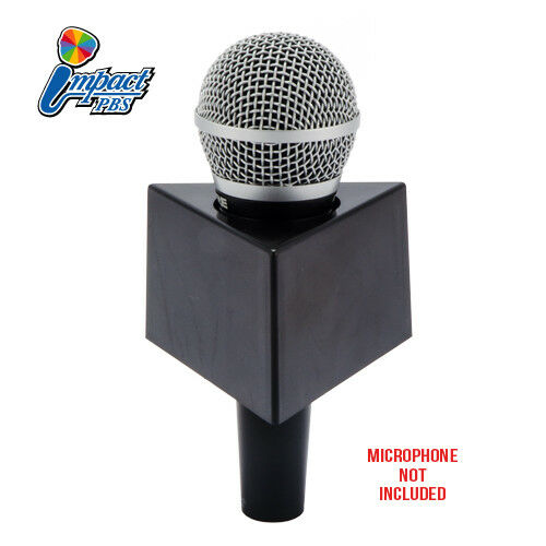 Impact PBS Mic Flags includes 2 foam inserts 3 sided Microphone Flag