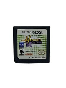 Nintendo-DS-Game-Hanna-Montana-Cartridge-Only-Tested-Works-Disney-2006