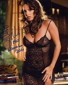 Image Is Loading Lindsey Vuolo Signed 8x10 Photo Playboy Playmate New
