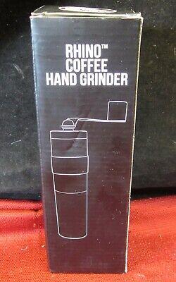 Silver Rhino Coffee Gear RWHANDGRINDER Hand Coffee Grinder Coffee ...