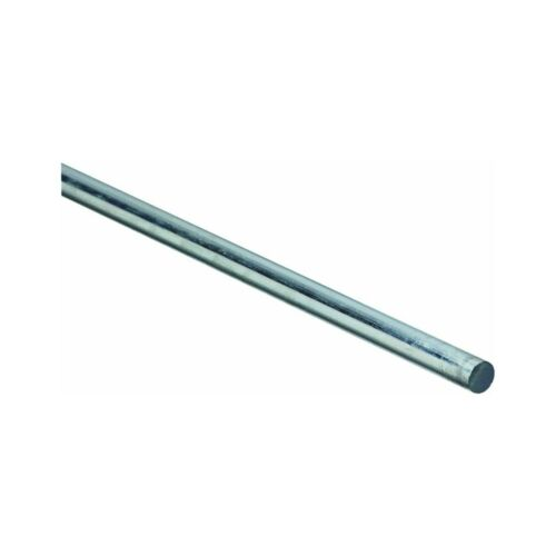 """Stanley National Hardware 4005BC 3//8/"""" x 36/"""" Plated Steel Smooth Rod"""