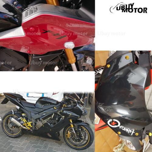 Yamaha YZF R6 2008 2009 2010 2011 2012 2013 Complete Fairing Bolt Kit Screw Gold