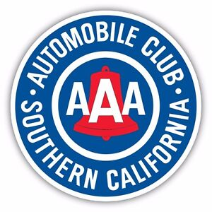 Aaa Southern California Member Automobile Club Decal Sticker Vinyl Logo Ebay