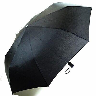 Flash Super Mini Light Schwarz 72199 mit LED-Leuchte Regenschirm Taschen Schirm