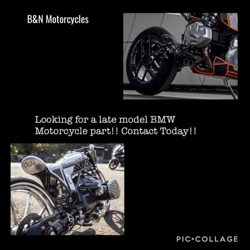 BMW Motorcycle Spares (Late Model)