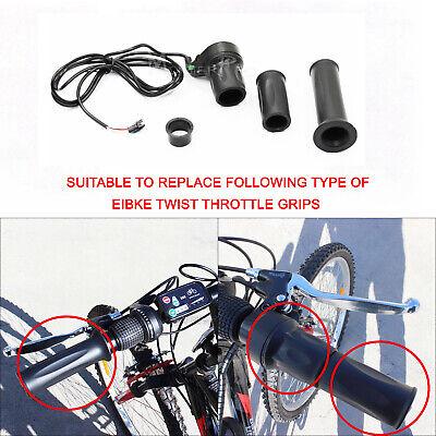 """Electric Bicycle  Throttle Grip E Bike 24V 36V 48V Scooter 7//8/"""" Handlebar"""