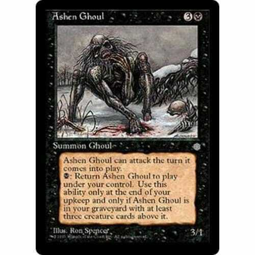 Excellent Condition Ashen Ghoul MTG ICE AGE