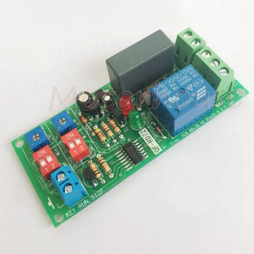AC 110 V 220 V 230 V Cycle retardateur sur commande de relais Turn On Off Switch Loop Module