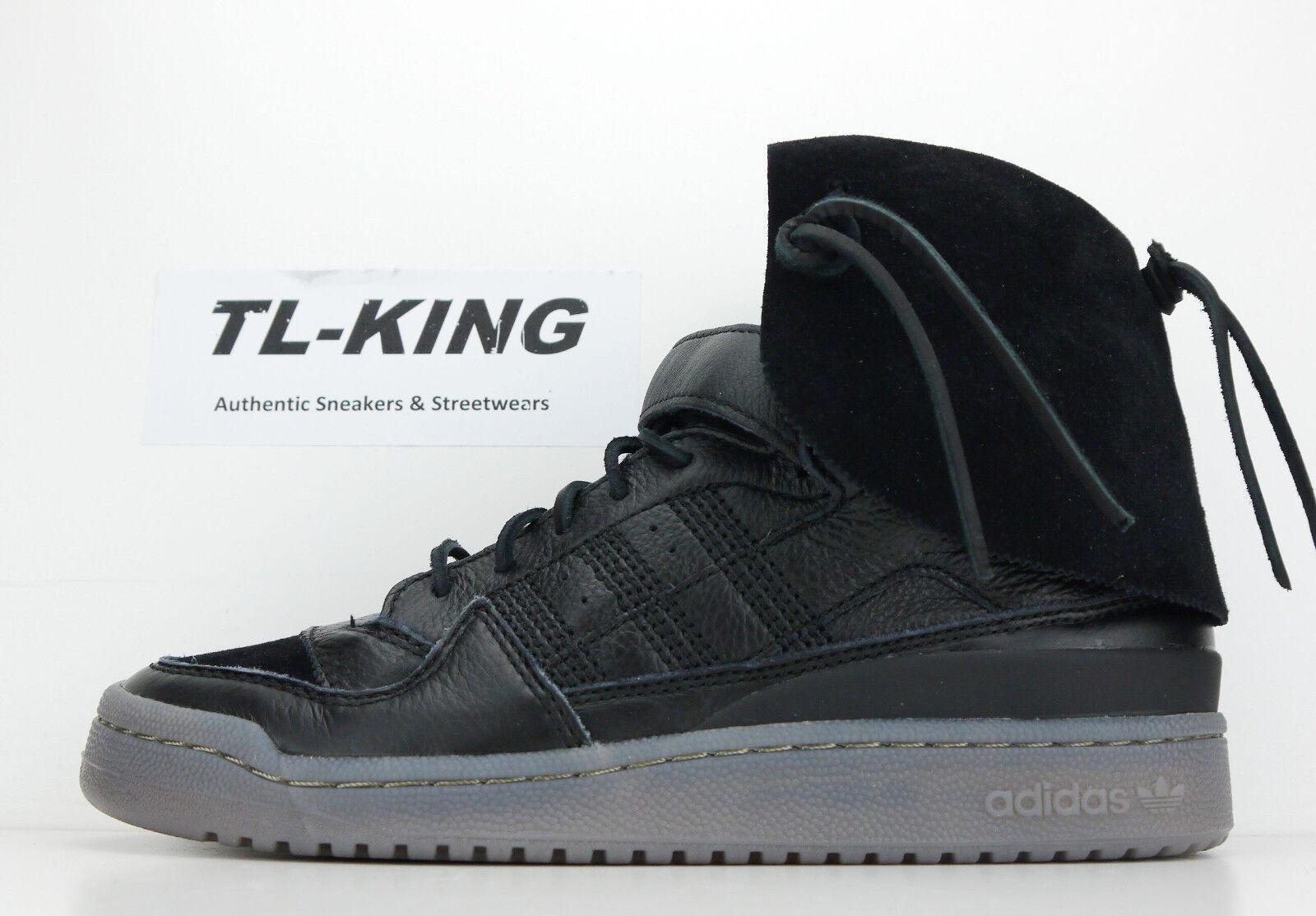 Adidas Originals Forum Hi Moc Chalk Black Clay Classic B27670 Msrp  200 GM