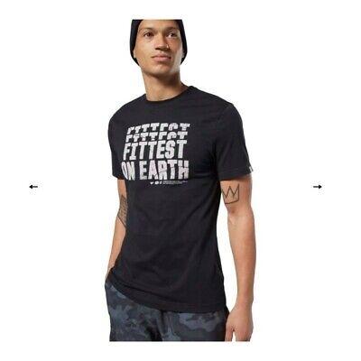 Reebok CrossFit Fittest on Earth Tee EC1464 Mens T shirt