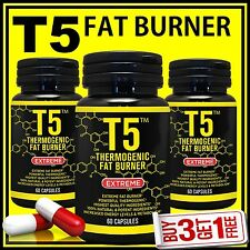 T5 WEIGHT LOSS CAPSULES AURANTIUM GARCINIA CAMBOGIA KONJAC FIBER GREEN TEA DIET