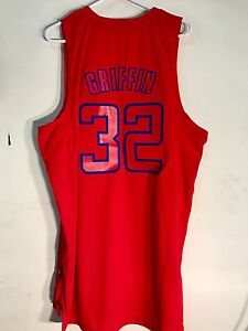 7232a1f4f Adidas Swingman NBA Jersey Los Angeles Clippers Blake Griffin Red sz ...
