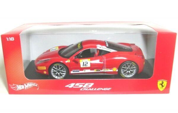 Ferrari 458 Défi (rouge) Numéro 12