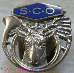 BG6882-INSIGNE-BADGE-SAINT-HUBERT-CLUB-DE-L-039-OUEST-SCO